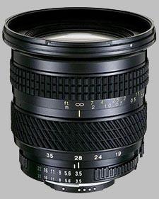 image of the Tokina 19-35mm f/3.5-4.5 AF 193 lens