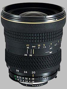 image of the Tokina 20-35mm f/2.8 AT-X 235 AF PRO lens