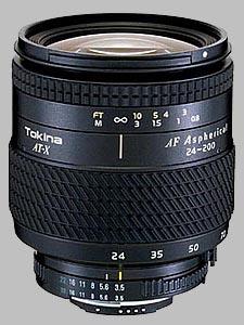 image of the Tokina 24-200mm f/3.5-5.6 AT-X 242 AF lens