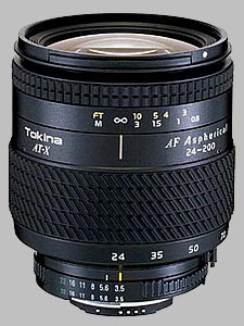 image of the Tokina 24-200mm f/3.5-5.6 AT-X 242 AF lens