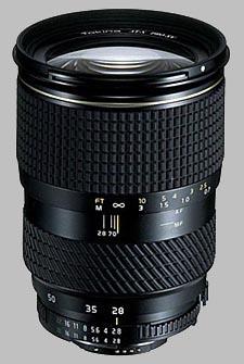 image of the Tokina 28-70mm f/2.8 AT-X 287 AF PRO SV lens