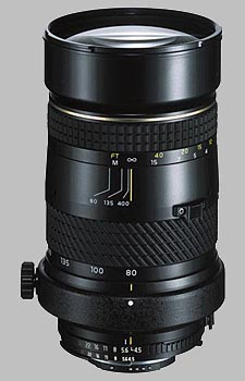 image of the Tokina 80-400mm f/4.5-5.6 AT-X 840 AF-II lens
