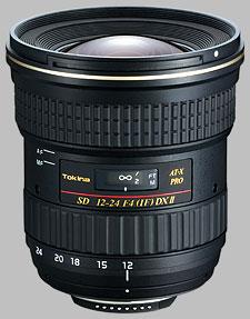 image of the Tokina 12-24mm f/4 AT-X 124 AF PRO DX II SD lens