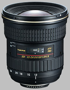 image of the Tokina 12-24mm f/4 AT-X 124 AF PRO DX II SD lens