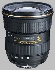 image of the Tokina 12-28mm f/4 AT-X 128 AF PRO DX SD lens
