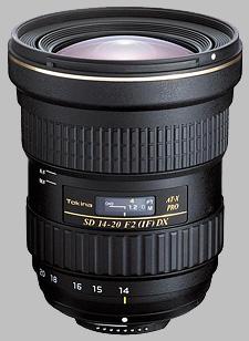 image of the Tokina 14-20mm f/2 AT-X 142 AF PRO DX SD lens