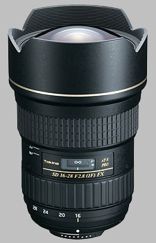 image of the Tokina 16-28mm f/2.8 AT-X PRO FX SD lens
