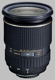 image of the Tokina 16-50mm f/2.8 AT-X 165 AF PRO DX SD lens