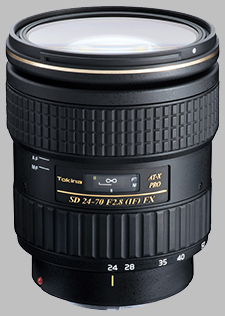 image of the Tokina 24-70mm f/2.8 AT-X PRO FX SD lens