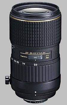 image of the Tokina 50-135mm f/2.8 AT-X 535 AF PRO DX lens