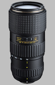 image of the Tokina 70-200mm f/4 AT-X AF PRO FX VCM-S SD lens