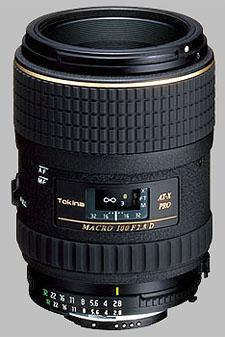 image of the Tokina 100mm f/2.8 AT-X 100 AF PRO D Macro lens