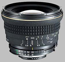 image of the Tokina 17mm f/3.5 AT-X 17 AF PRO Aspherical lens