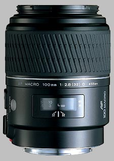 image of the Konica Minolta 100mm f/2.8 Macro D AF lens