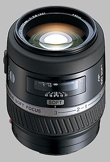 image of the Konica Minolta 100mm f/2.8 Soft Focus AF lens