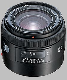 image of the Konica Minolta 28mm f/2 AF lens