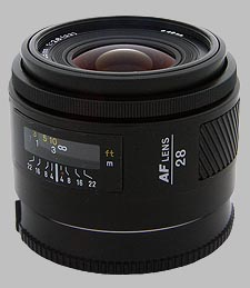 image of the Konica Minolta 28mm f/2.8 AF lens