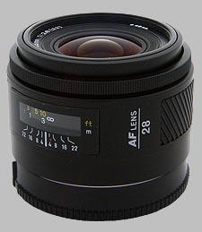 image of the Konica Minolta 28mm f/2.8 AF lens