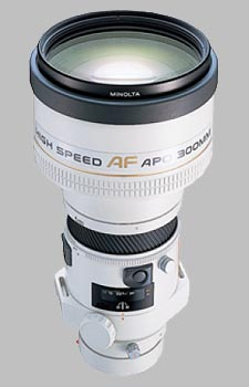 image of the Konica Minolta 300mm f/2.8 APO G AF lens