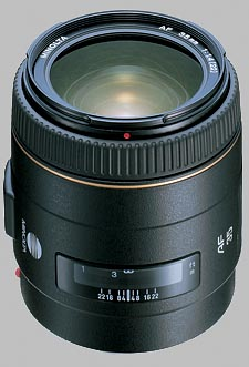 image of the Konica Minolta 35mm f/1.4 G AF lens