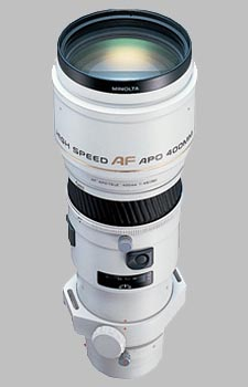 image of the Konica Minolta 400mm f/4.5 APO G AF lens