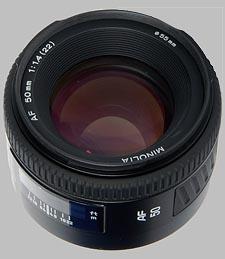 image of the Konica Minolta 50mm f/1.4 AF lens