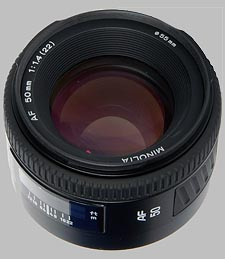 image of the Konica Minolta 50mm f/1.4 AF lens