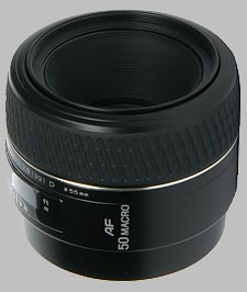 image of the Konica Minolta 50mm f/2.8 Macro D AF lens
