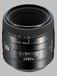 image of the Konica Minolta 50mm f/3.5 Macro AF lens