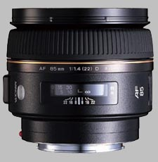 image of the Konica Minolta 85mm f/1.4 G D AF lens