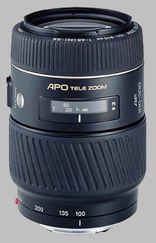 image of the Konica Minolta 100-300mm f/4.5-5.6 APO D AF lens