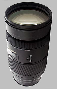 image of the Konica Minolta 100-400mm f/4.5-6.7 APO AF lens