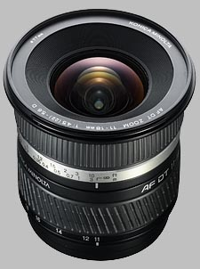 image of the Konica Minolta 11-18mm f/4-5.6 D AF DT lens