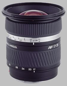 image of the Konica Minolta 17-35mm f/2.8-4 D AF lens