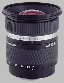image of the Konica Minolta 17-35mm f/2.8-4 D AF lens