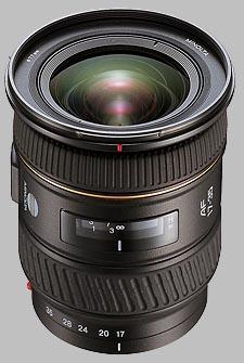 image of the Konica Minolta 17-35mm f/3.5 G AF lens
