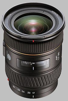 image of the Konica Minolta 17-35mm f/3.5 G AF lens