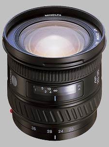 image of the Konica Minolta 20-35mm f/3.5-4.5 AF lens
