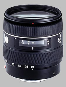 image of the Konica Minolta 24-105mm f/3.5-4.5 D AF lens