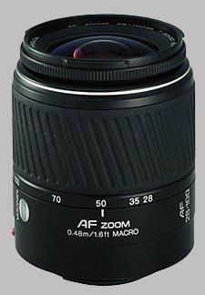 image of the Konica Minolta 28-100mm f/3.5-5.6 D AF lens