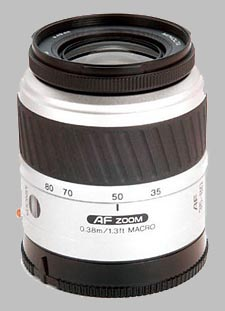 image of the Konica Minolta 35-80mm f/4-5.6 II AF lens