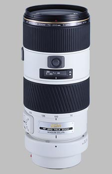 image of the Konica Minolta 70-200mm f/2.8 APO G D SSM AF lens