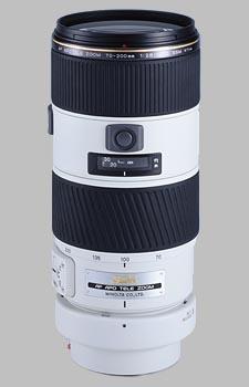 image of the Konica Minolta 70-200mm f/2.8 APO G D SSM AF lens