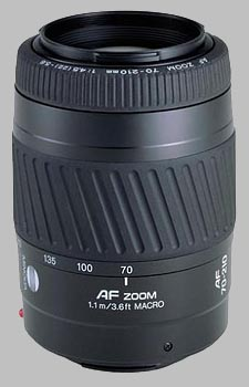 image of the Konica Minolta 70-210mm f/4.5-5.6 II AF lens