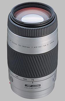 image of the Konica Minolta 75-300mm f/4.5-5.6 D AF lens