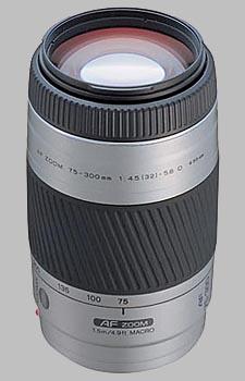 image of the Konica Minolta 75-300mm f/4.5-5.6 D AF lens