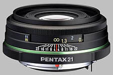 image of the Pentax 21mm f/3.2 Limited SMC P-DA lens