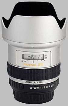 image of the Pentax 24mm f/2 SMC P-FA lens
