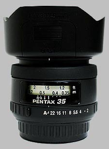 image of the Pentax 35mm f/2 AL SMC P-FA lens