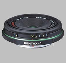image of the Pentax 40mm f/2.8 Limited SMC P-DA lens